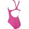 arena Solid Swim Pro Strój kąpielowy Kobiety różowy